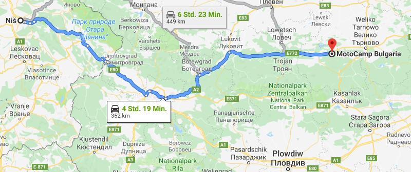 08.05.2019: Niš – Motocamp Bulgaria