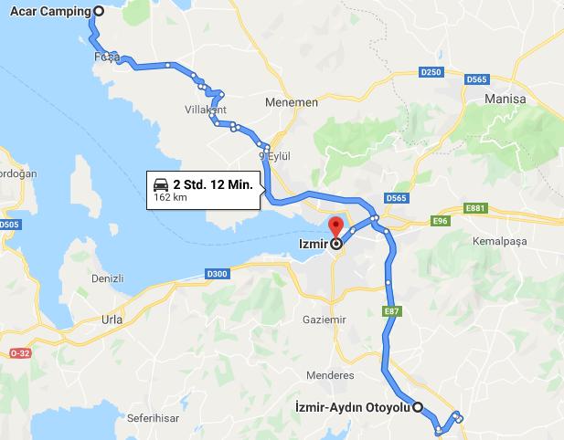 15.05.2019: Campground – Izmir