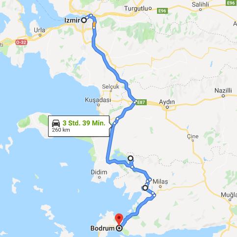 16.05.2019: Izmir – Campground Bodrum