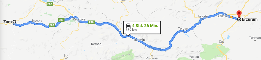 21.05.2019: Zara – Erzurum