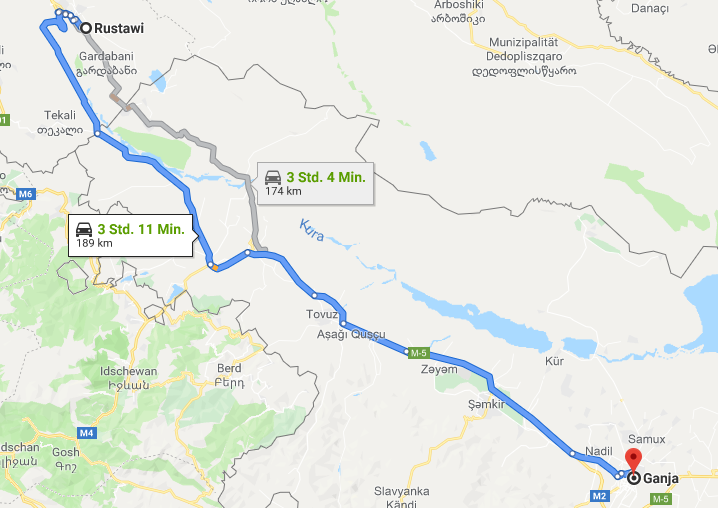 26.05.2019: Tbilisi – Ganja