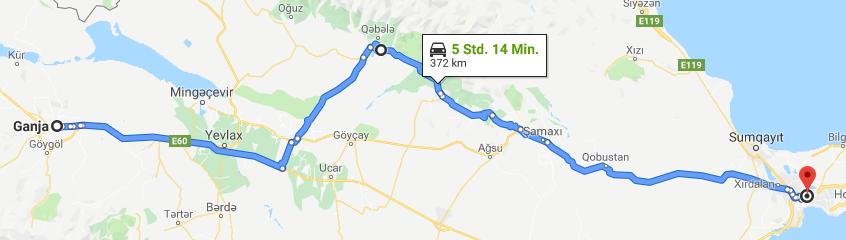 27.05.2019: Ganja – Baku